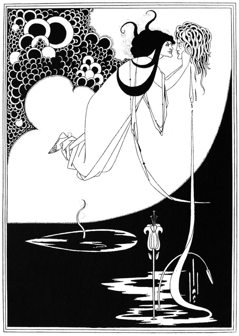 MyFrenchLife™ - MyFrenchLife.org – Oscar Wilde: hidden Francophilia revealed – the Parisian dream - Paris - Oscar Wilde- Aubrey Beardsley illustration of Salomé