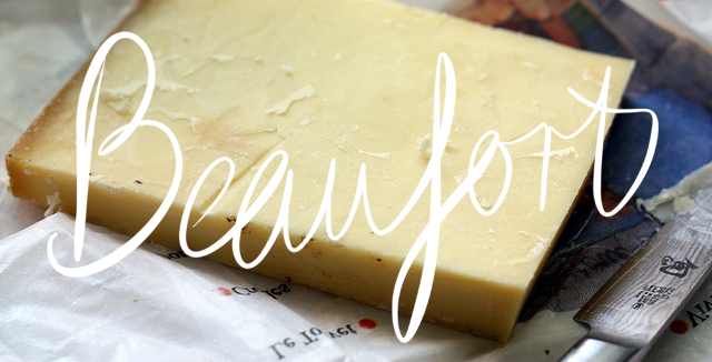 Beaufort - French cheese - hard