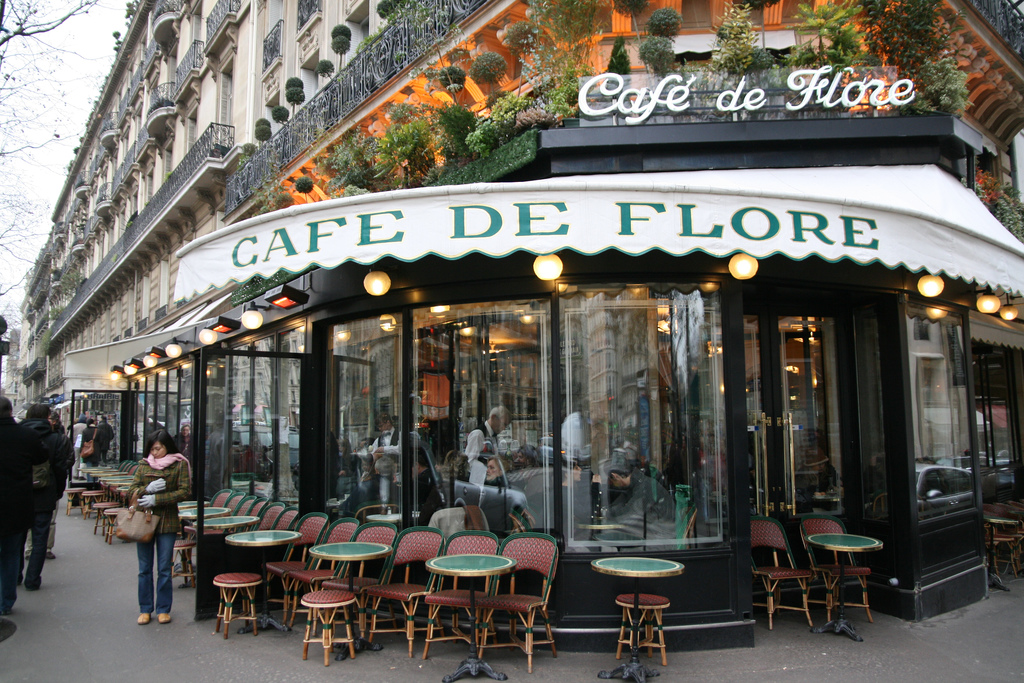 MyFrenchLife™ - MyFrenchLife.org – Oscar Wilde: hidden Francophilia revealed – the Parisian dream - Paris - Café de Flore