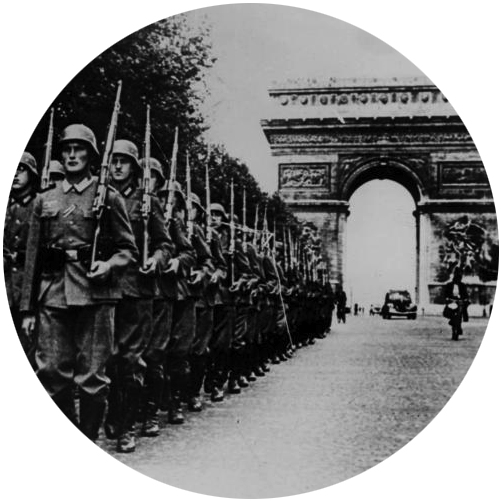 MyFrenchLife™ - defending paris - troops - MyFrenchLife.org