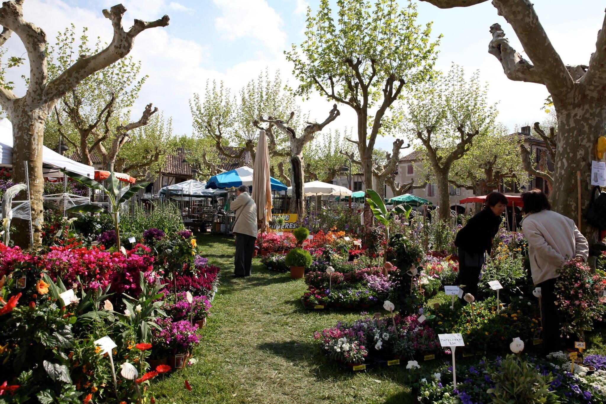 MyFrenchLife™ – MyFrenchLife.org – Fources flower festival – Fourcès – Gascony – April