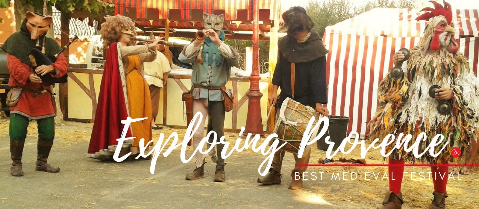 MyFrenchLife™ – Exploring Provence –Medieval festival – Jan Leishman – MyFrenchLife.org