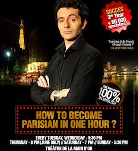 MyFrenchLife™ - Paris in December - Learn how to become Parisian in one hour promotional poster