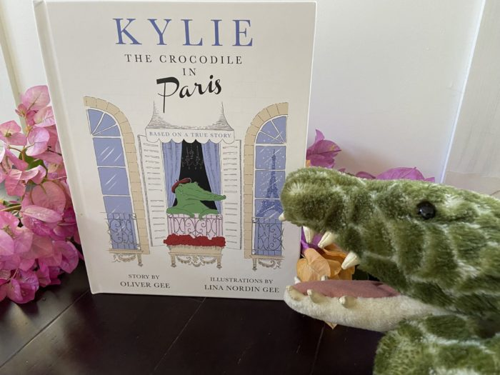 Book review: Kylie the Crocodile in Paris by Oliver Gee and Lina Nordin Gee