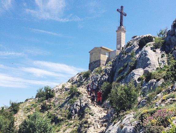 MyFrenchLife™ - Cézanne in Aix-en-Provence - la Croix de Provence