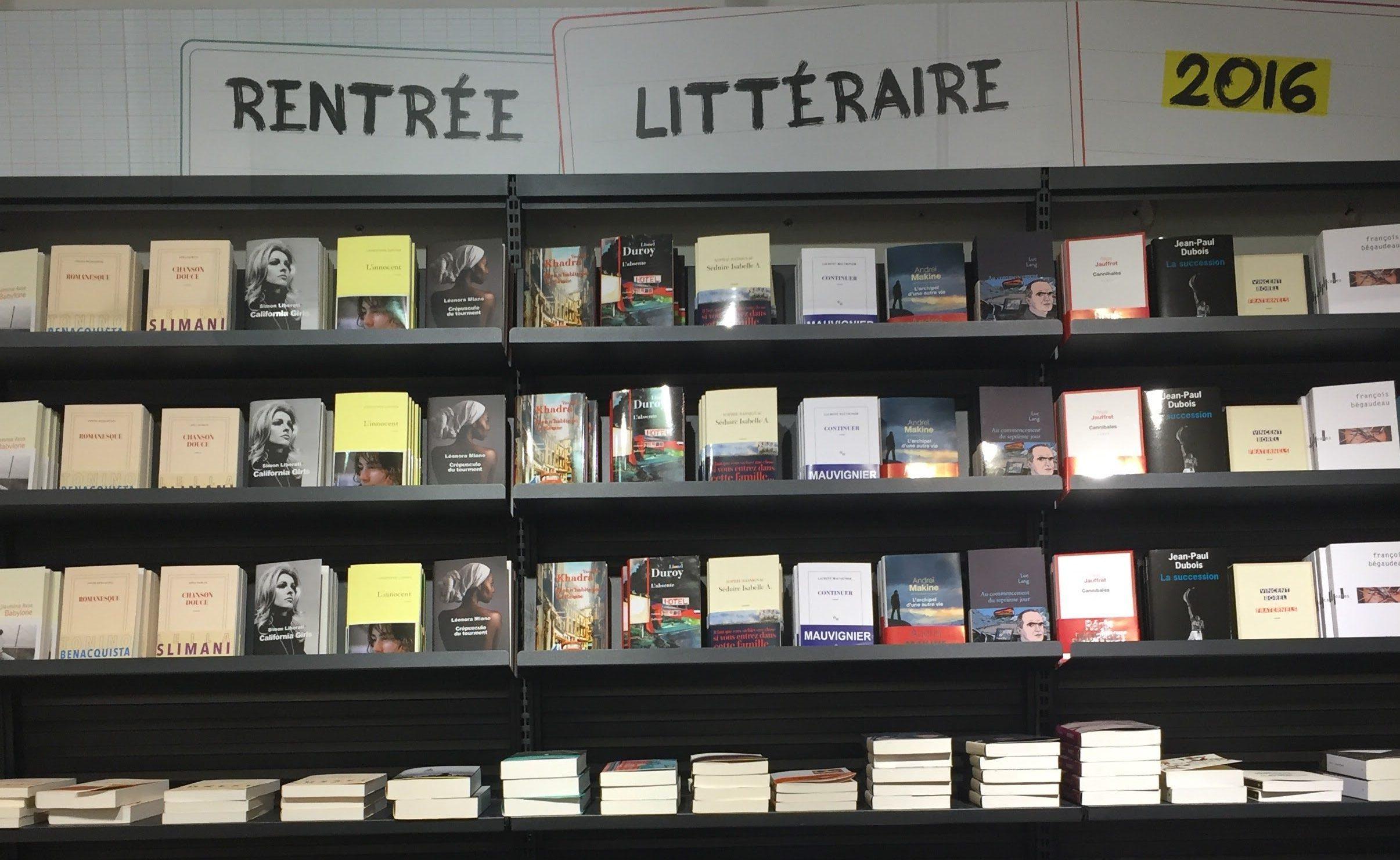 MyFrenchLife™ – myfrenchlife.org – la rentree – litteraire – books