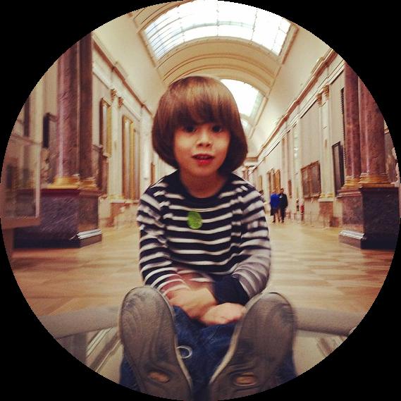 Insta, Storsh au Louvre, inside Denon