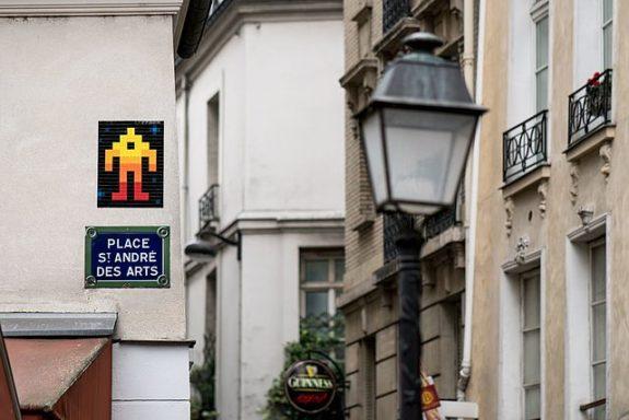 MyFrenchLife™ – MyFrenchLife.org – Invader - Invader Paris street - Street art - French urban artist