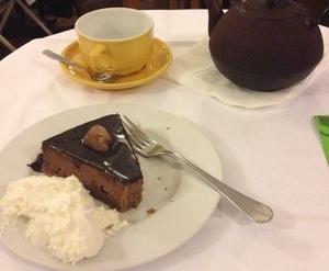 MyFrenchLife™ - Paris hot chocolate - cake