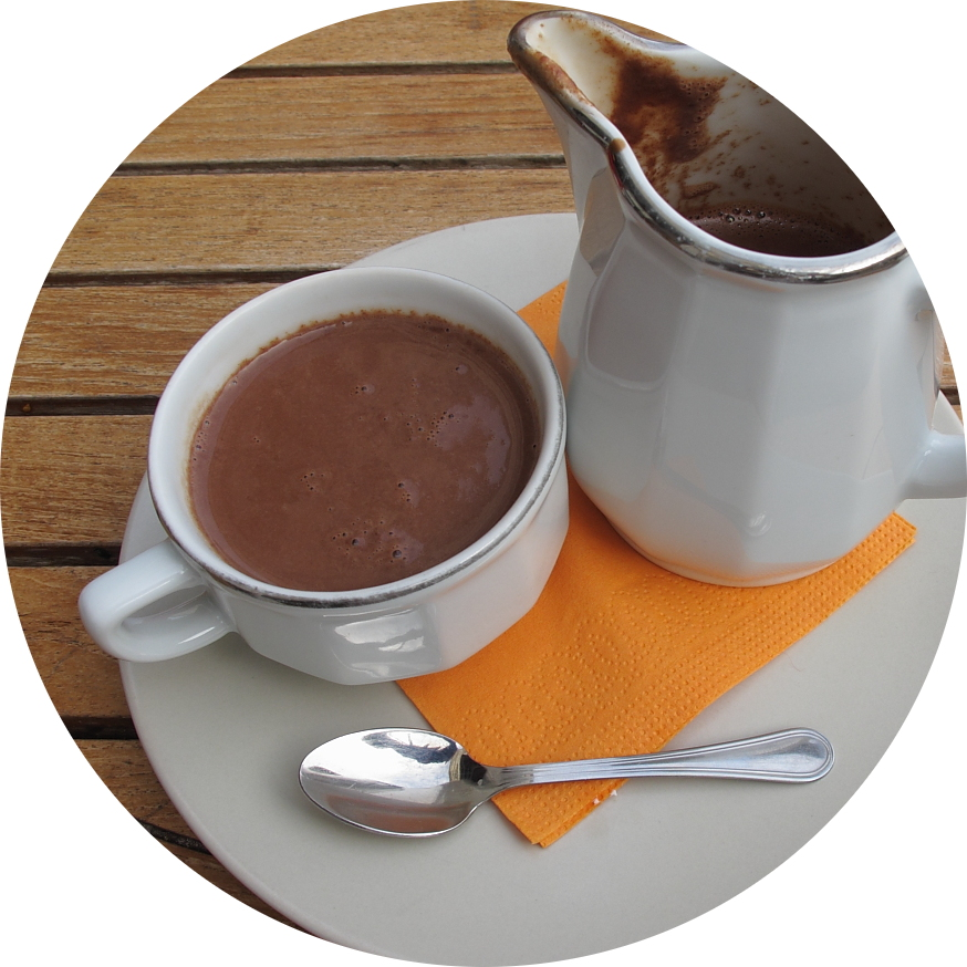 MyFrenchLife™ - Paris hot chocolate - hot chocolate