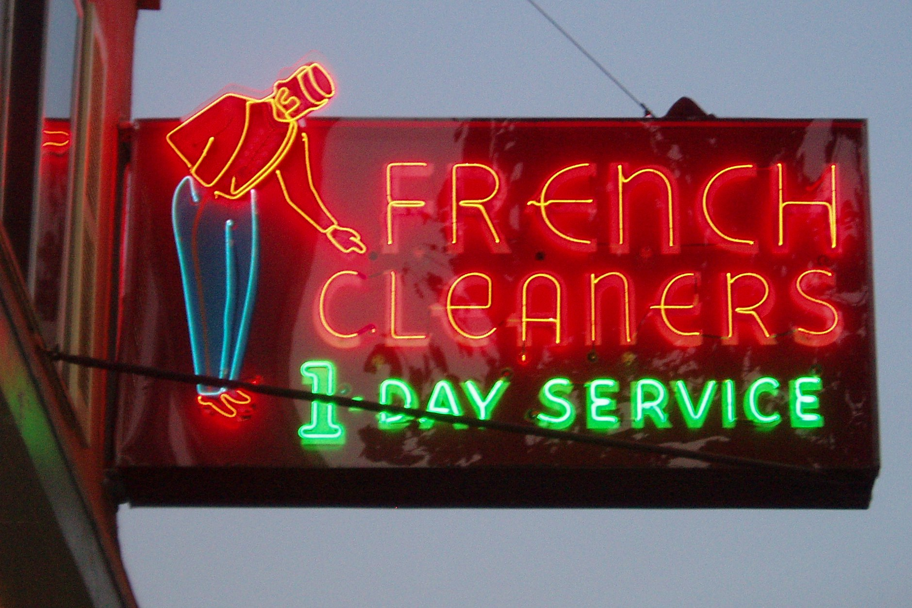 French cliche - French cleaner