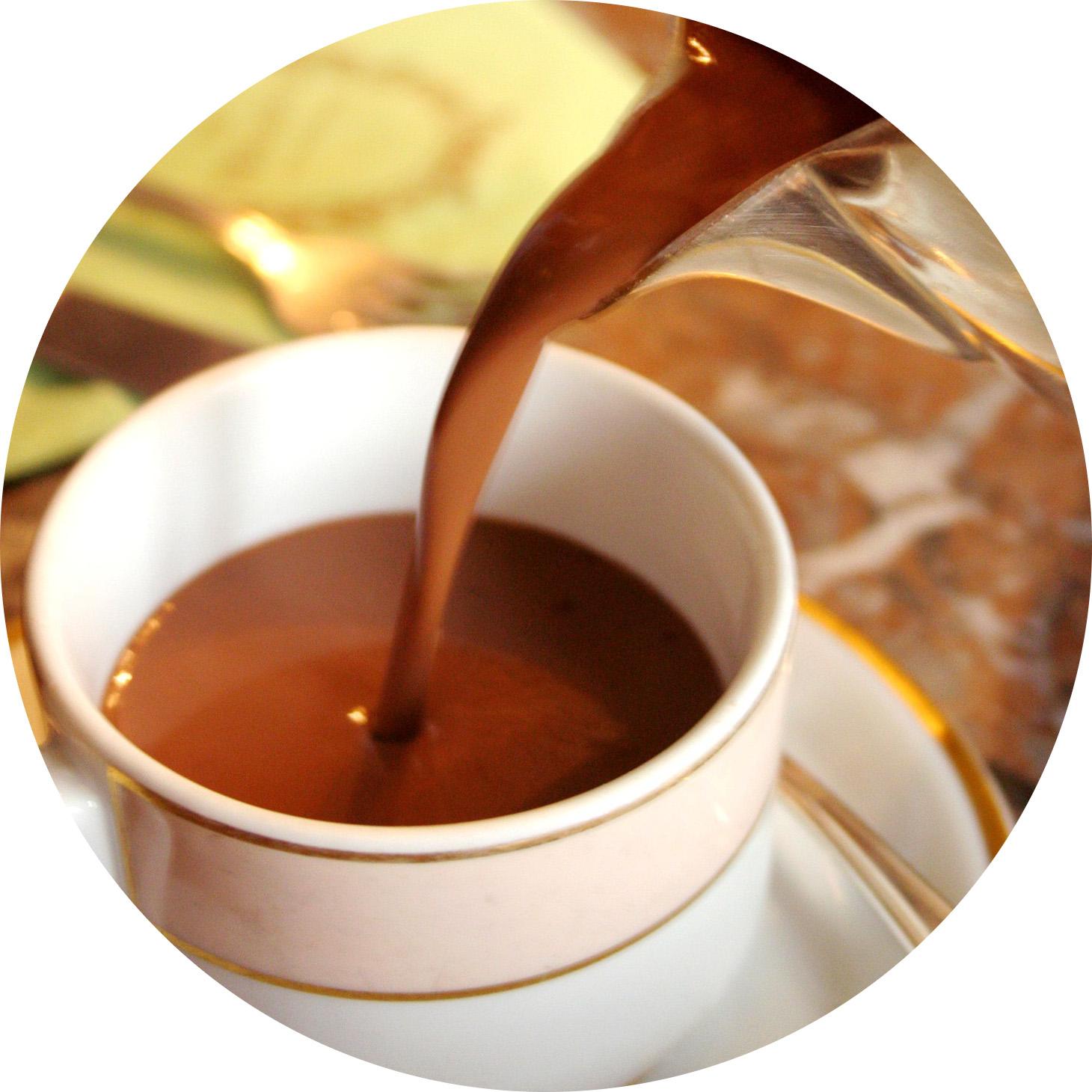MyFrenchLife™ - Paris hot chocolate - chocolat chaud