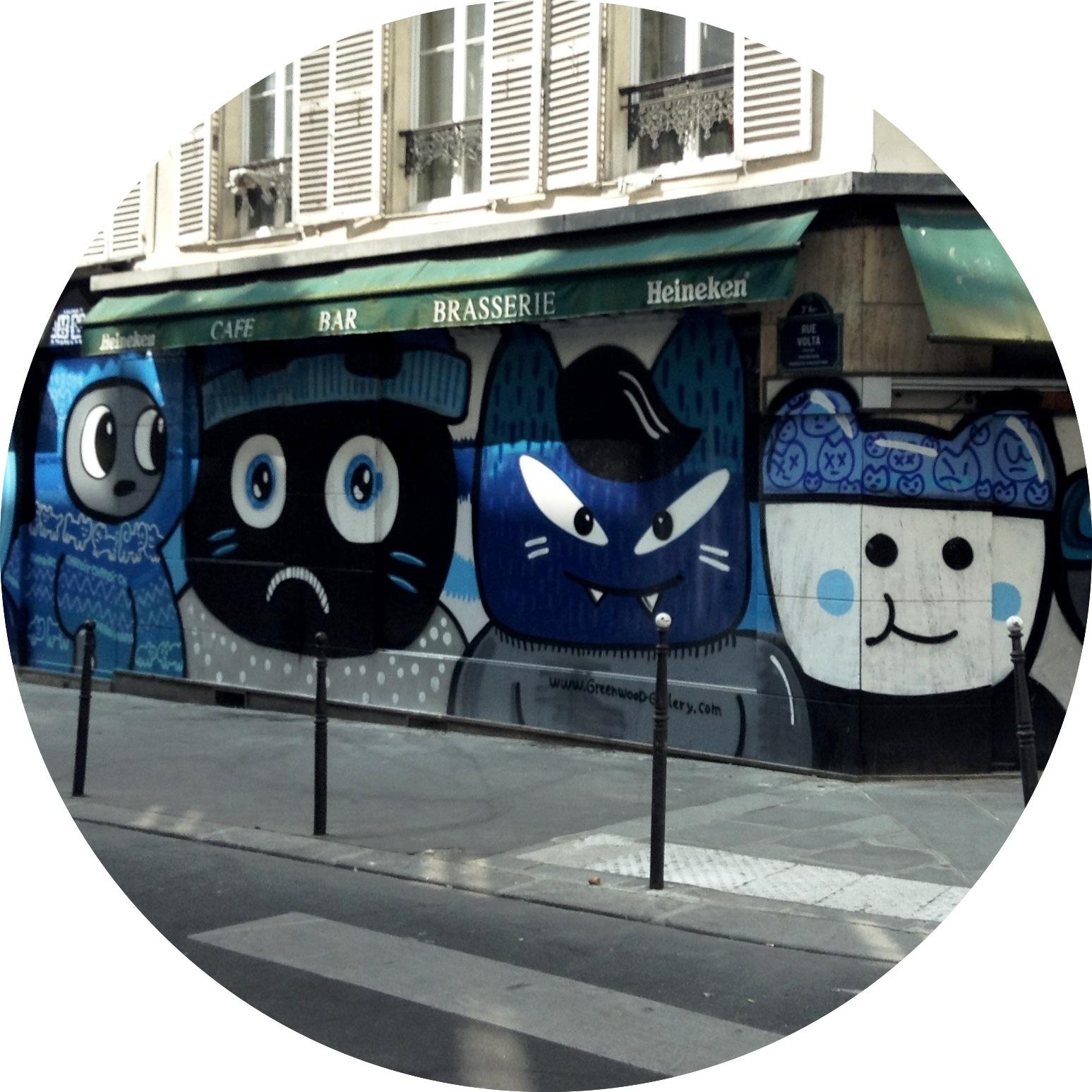 MyFrenchlife™ - La Jeune Rue - street art - paris - gentrification