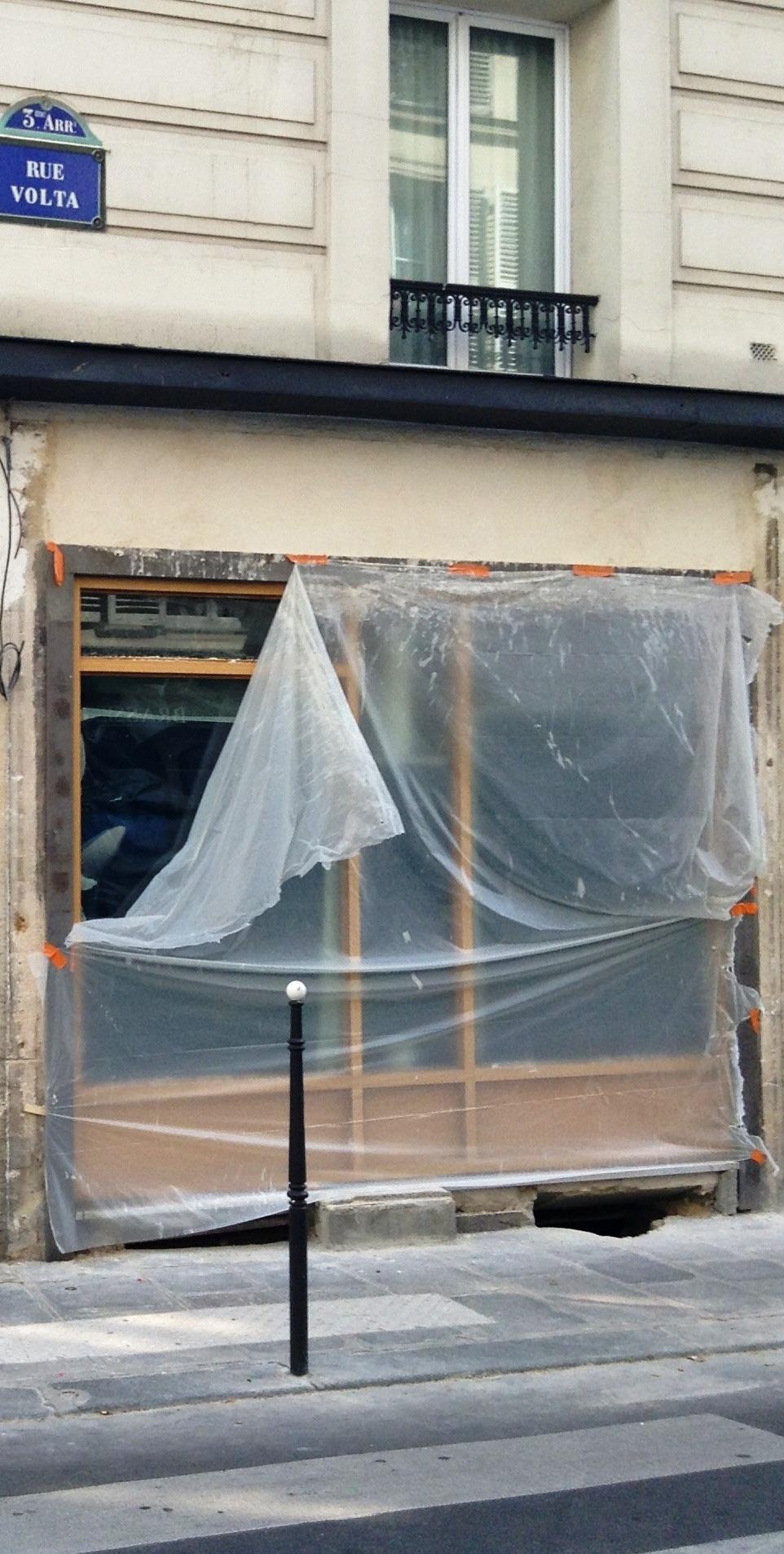 MyFrenchLife™ - La Jeune Rue - unfinished work -  paris - gentrification