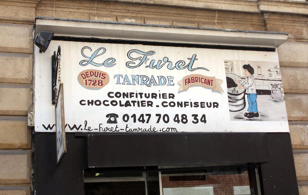 MyFrenchLife™ - Le Furet Tanrade - Paris Mosaic