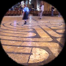 MyFrenchLife™ - French gothic cathedrals - Labyrinthe de la cathédrale Notre-Dame de Chartres