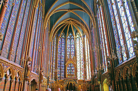 MyFrenchLife™ - French gothic cathedrals - Sainte-Chapelle