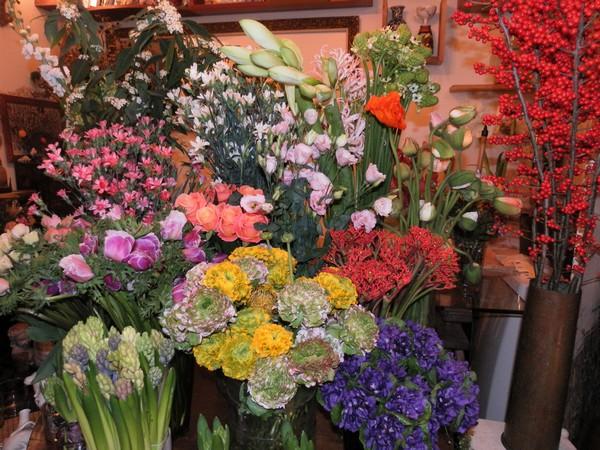 MyFrenchLife™ – Paris Mosaic - Muse - flowers 1 - MyFrenchLife.org