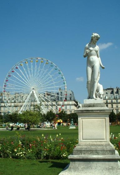 MyFrenchLife™ – MyFrenchLife.org – Paris in August – what's on - Jardin des Tuileries