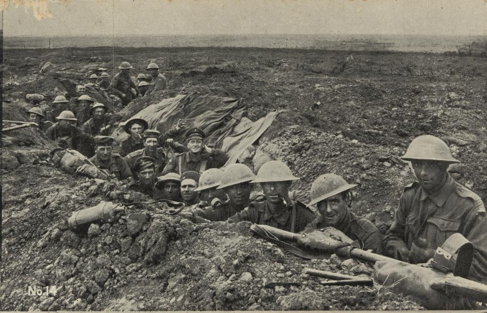 MyFrenchLife™ – MyFrenchLife.org - Great War - Australian Soldiers in Trenches