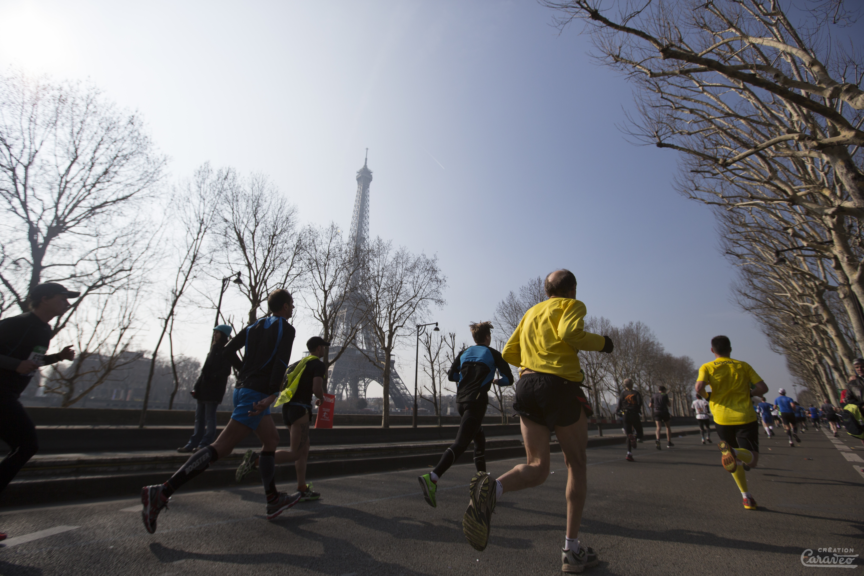 MyFrenchLife™ – MyFrenchLife.org - Paris in March - 2017 - Paris in spring - whats on - Fitbit Paris Half Marathon - running