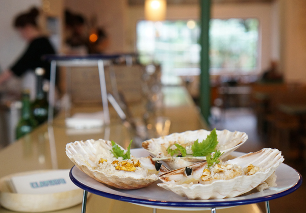 MyFrenchLife™ - eating out in Paris - Clamato Scallops WP - http://www.thepariskitchen.com/