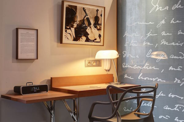 MyFrenchLife™-literary hotels-Le Swann-room detail