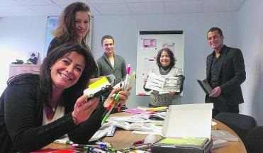 MyFrenchLife™ - MyFrenchLife.org - MidetPlus - Katia Dayan - disability - Butterflies & Disability - in the Rouen office