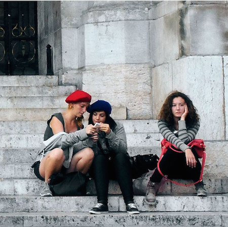 MyFrenchLife™ - MidlifeinParis Instagram - Paris insight: Banal Berets - 450 x 449 - MyFrenchLife.org