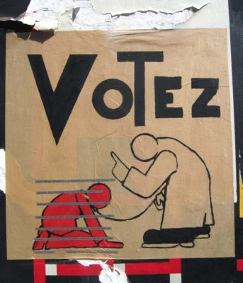 MyFrenchLife™ - MyFrenchLife.org - 2017 - French Legislative Elections - French politics - French election process - Votez poster