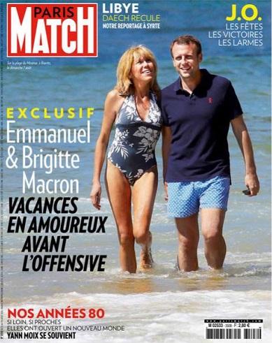 MyFrenchLife™ - MyFrenchLife.org - First Lady Brigitte Macron - Enjoying les vacances