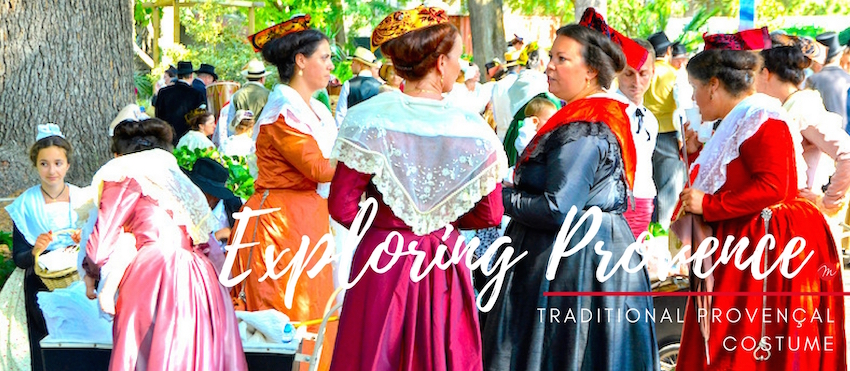 MyFrenchLife™ - MyFrenchLife.org - Exploring Provence - Jan Leishman - Traditional Provençal Costume - women in dresses