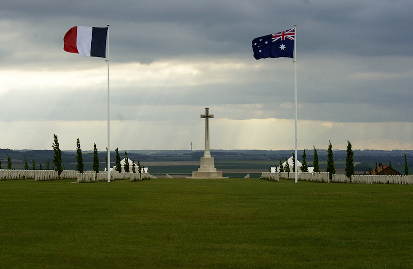 MyFrenchLife™ - MyFrenchLife.org - Exploring Provence - Jan Leishman - World War One - Villers-Bretonneux