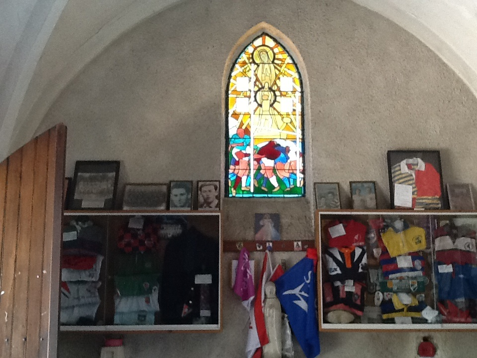 MyFrenchLife™ - MyFrenchLife.org - French rugby - rugby in France - Top 14 - Pro D2 - Chapelle Notre Dame du Rugby