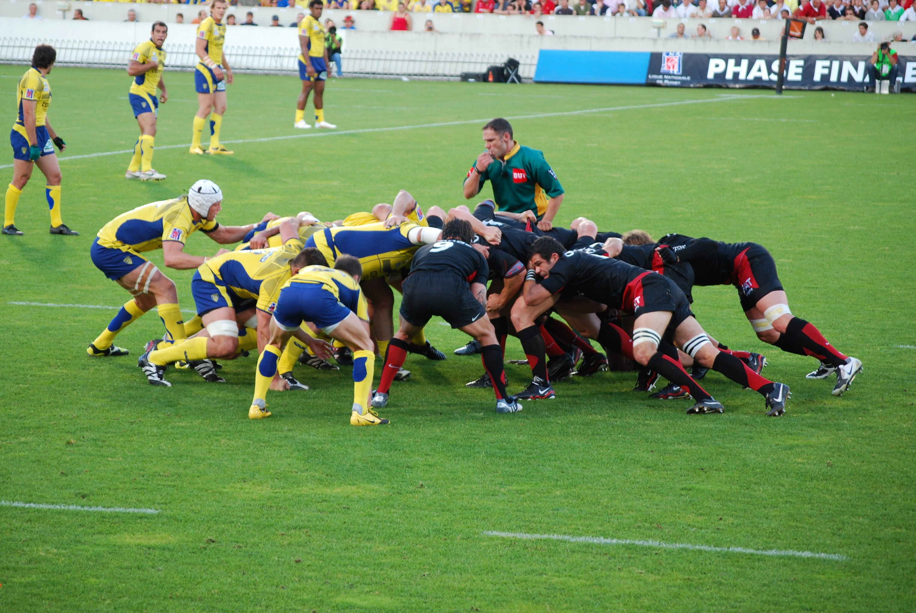 MyFrenchLife™ - MyFrenchLife.org - French rugby - rugby in France - Top 14 - Pro D2 - Mélée St ASM Clermont.