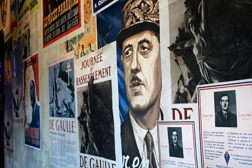 MyFrenchLife™ - MyFrenchLife.org - General Charles de Gaulle - Memorial to a leader - VE Day