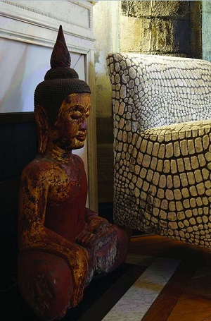 MyFrenchLife™ - MyFrenchLife.org - Inspiring Women - Kara Molinari - Buddha Statue