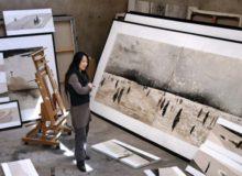 MyFrenchLife™ - MyFrenchLife.org - MidetPlus - Inspiring Women - Li Chevalier - Artist - Painting - les femmes inspirantes