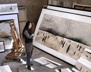 MyFrenchLife™ - MyFrenchLife.org - MidetPlus - Inspiring Women - Li Chevalier - Artist - Painting