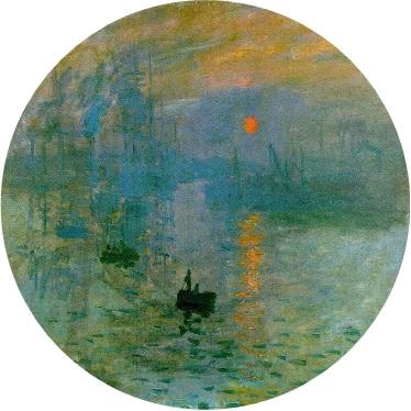 MyFrenchLife™ - MyFrenchLife.org - Monet Giverny - Impression soleil levant