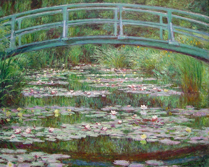 MyFrenchLife™ - MyFrenchLife.org - Monet Giverny - Japanese Footbridge & Waterlillies
