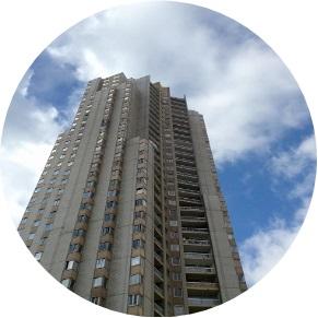 MyFrenchLife™ - MyFrenchLife.org - Parisian Brutalist Buildings - Haussmann - Paris Architecture - Brutalist Paris