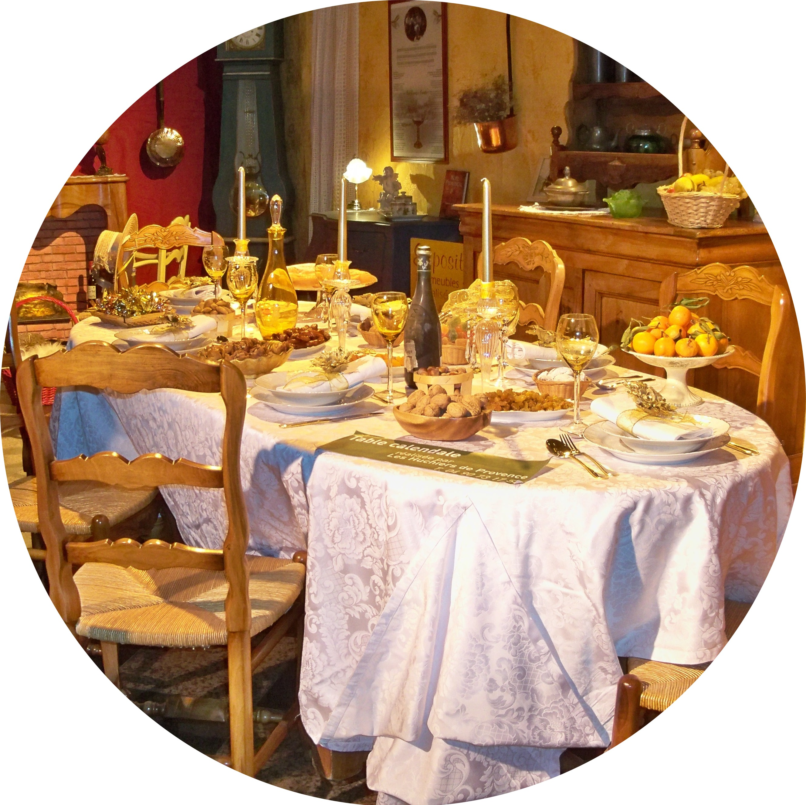 MyFrenchLife™ - MyFrenchLife.org - Jan_Leishman - Exploring_Provence_Christmas - gros_souper_table