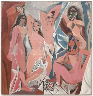 MyFrenchLife™-Picasso and Paris-Les Desmoiselles d'Avignon