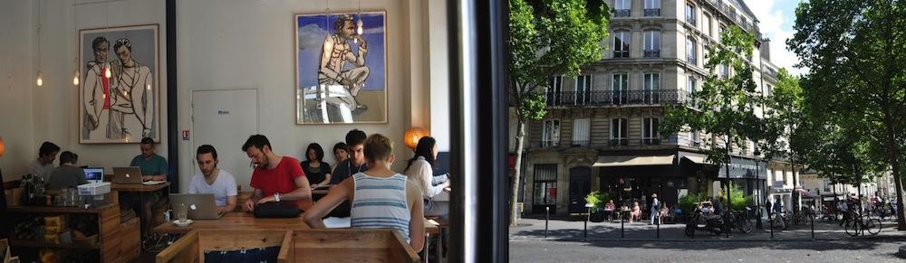 MyfrenchLife™ - coffee in Paris - KB coffeeshop
