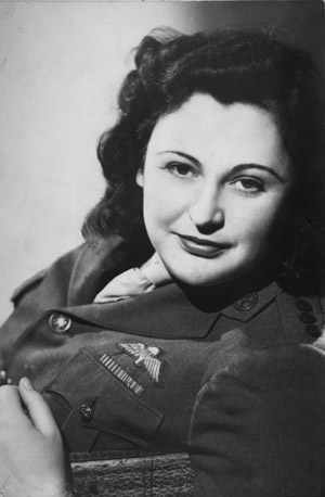 MyFrenchLife™ – MyFrenchLife.org – French Resistance: Nancy Wake and the Pat O'Leary line - Nancy Wake younger portrait