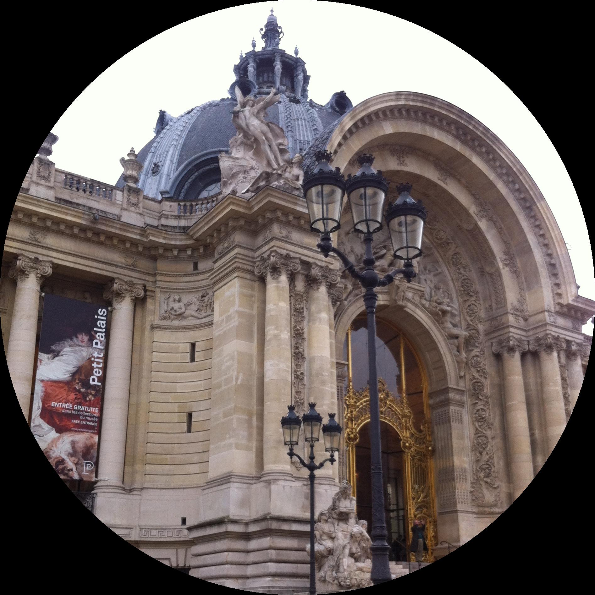 MyFrenchLife™ - MyFrenchLife.org - la muséophile - Le Petit Palais - impressive architecture