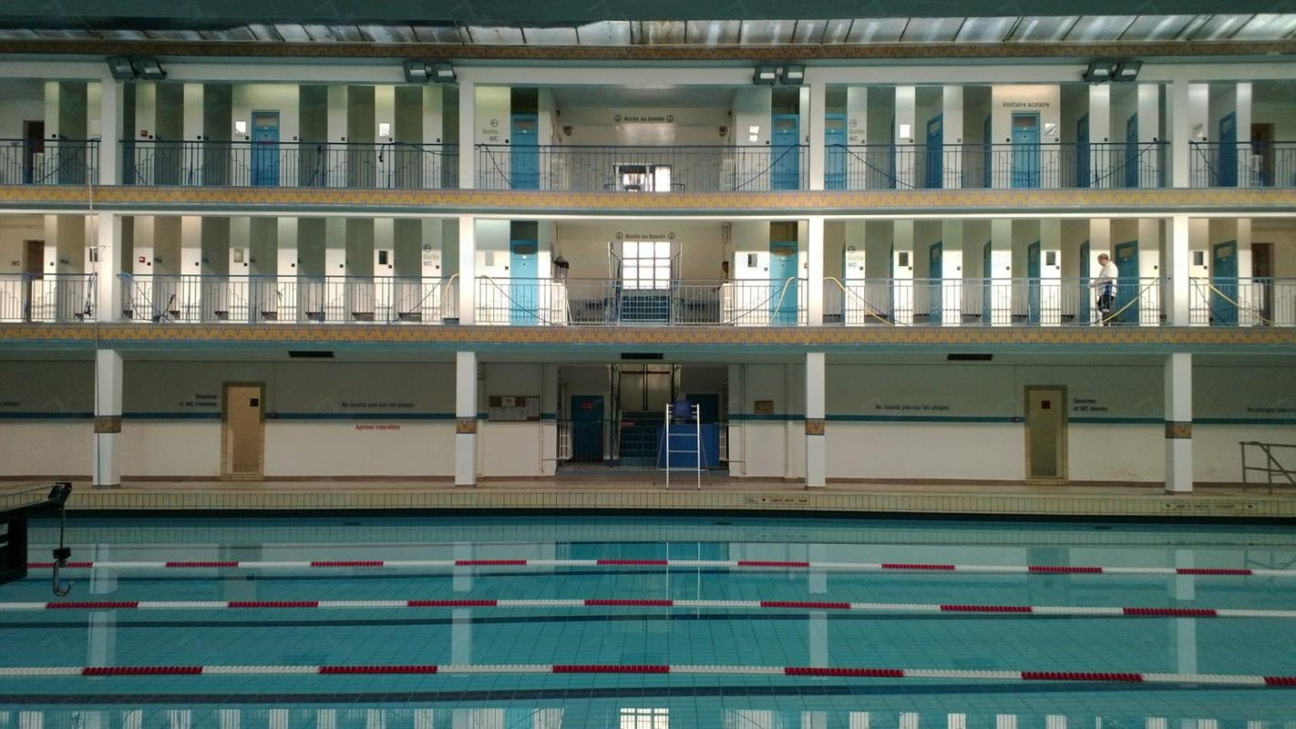 Piscine Pontoise - Swimming in Paris 2
