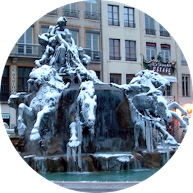 MyFrenchLife™ - Winter in Lyon - Place des Terraux
