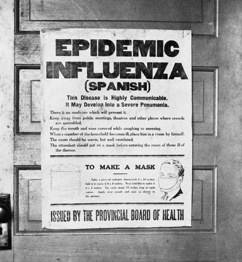 Spanish Flu - a Tale of 3 pandemics - MyFrenchLife.org